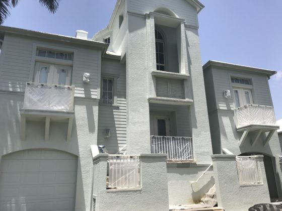 Exterior painting preparation process finest touch paintings - Painting preparation exterior photos ...