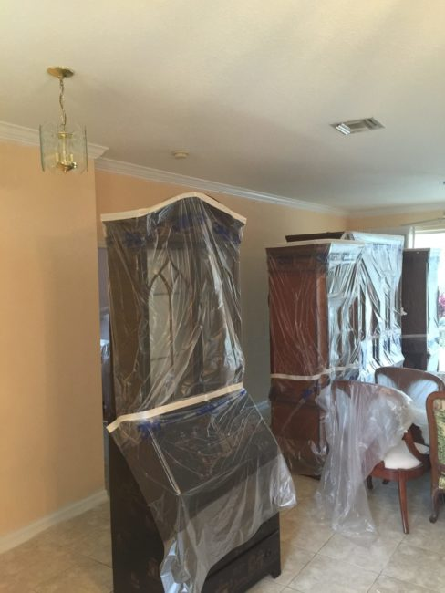 Interior House Painting Preparation Process Finest Touch